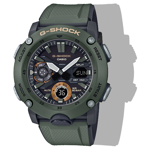 G-Shock GA2000-3A