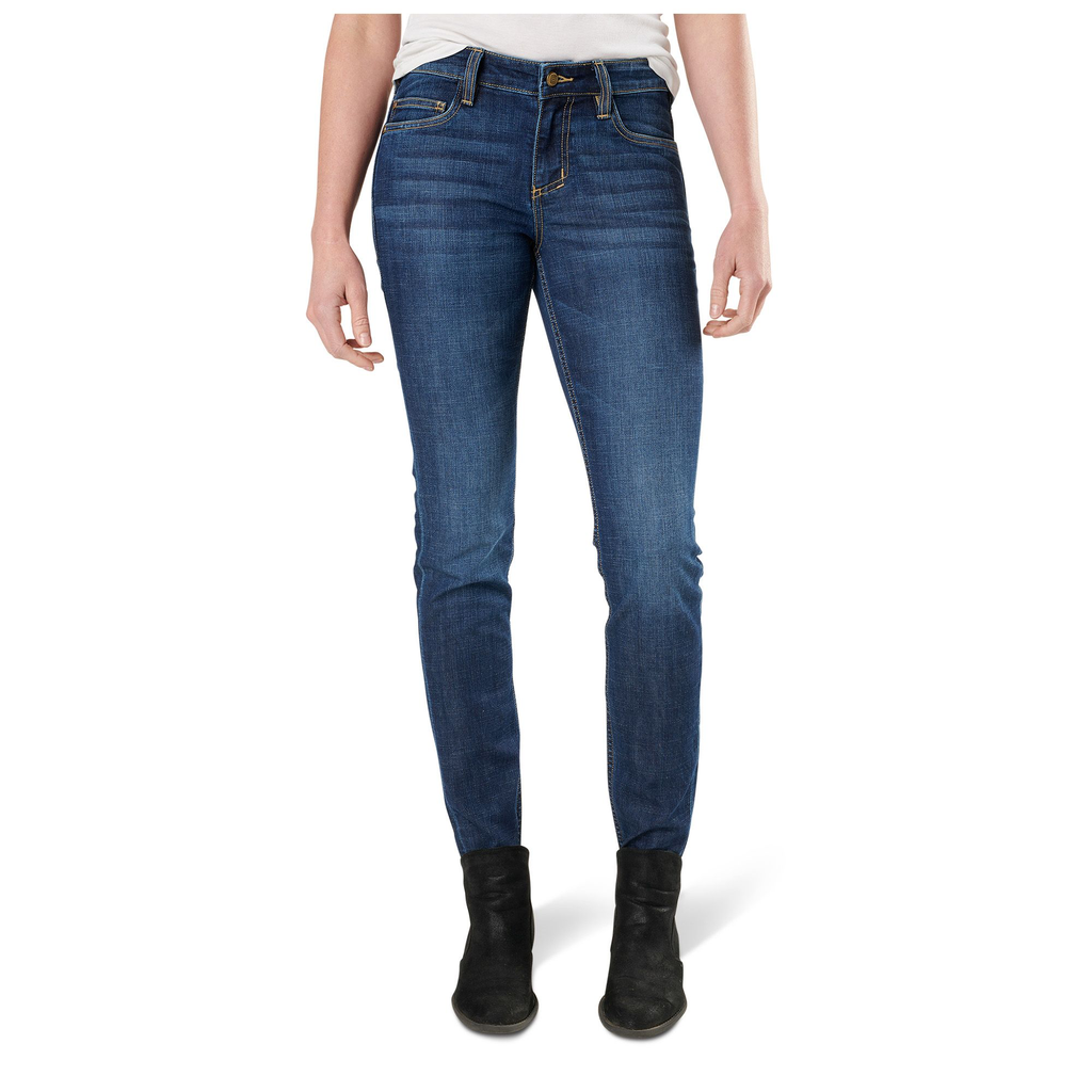 5.11 TACTICAL Women's Defender Jean, Pacific Indigo