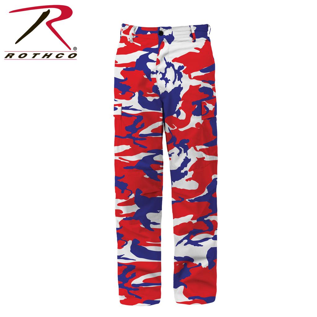ROTHCO Red/White/Blue Camo, Pant