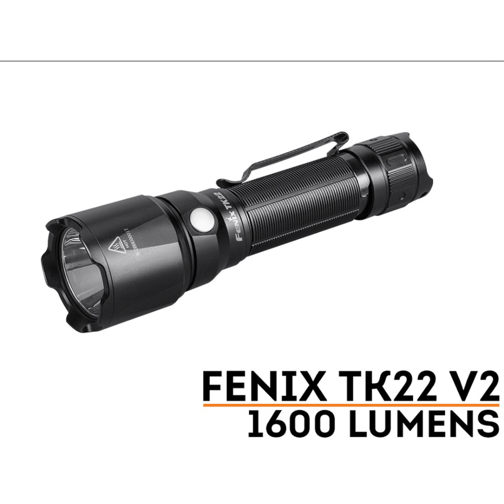 FENIX TK22 V2.0 Flashlight, 1600 Lumens