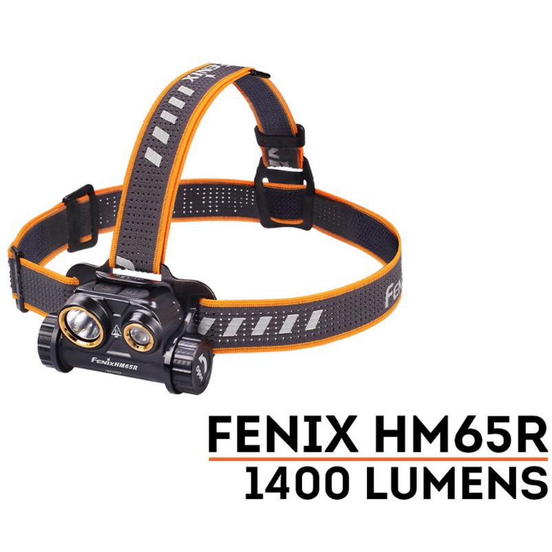 FENIX HM65R Headlmap, 1400 Lumens