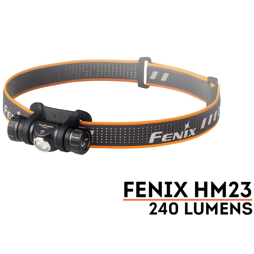 FENIX HM23 Headlamp, 240 Lumens