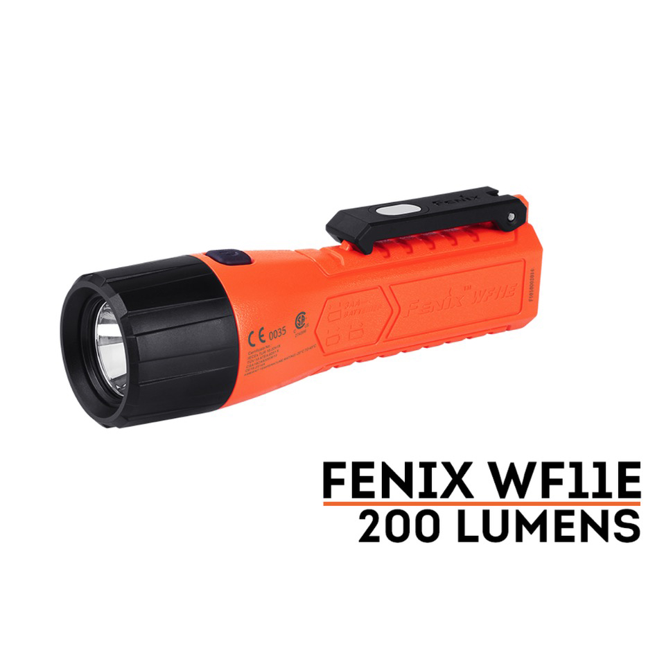 FENIX WF11E Flashlight, 200 Lumens