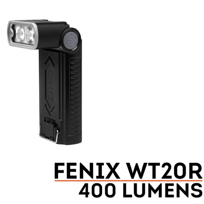 FENIX WT20R Flashlight, 400 Lumens