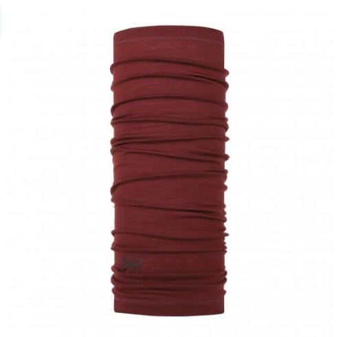 BUFF Lightweight Merino Wool Buff, Solid Wine
