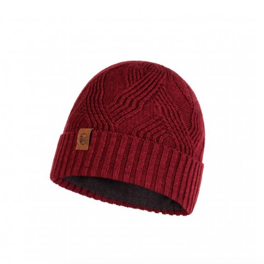 BUFF Knitted & Polar Hat, Artur Maroon