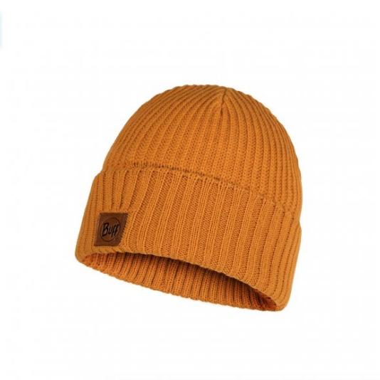 BUFF Knitted Hat, Rutger Ocher