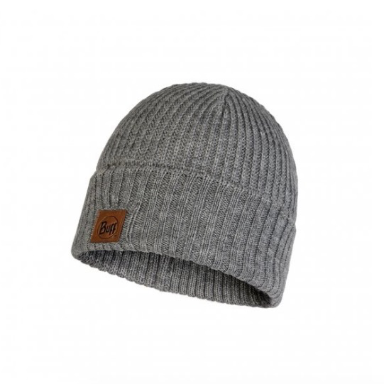 BUFF Knitted Hat, Rutger Melange Grey<br /> Knitted Hat, Rutger Melange Grey