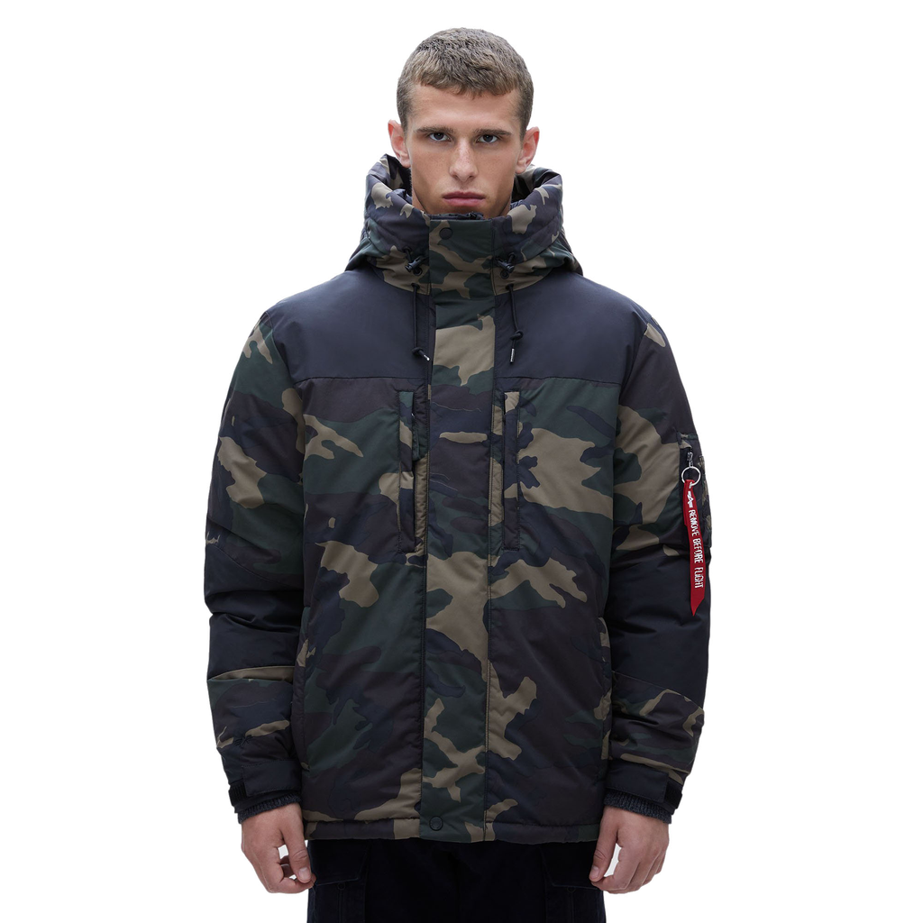 ALPHA INDUSTRIES INC. Avalanche PrimaLoft Parka, Dark Woodland