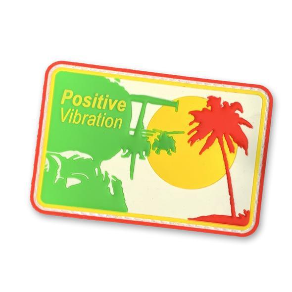 30 Sec Out Velcro Patch, Positive Vibration