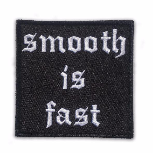 30 Sec Out Velcro Patch, Smooth is Fast