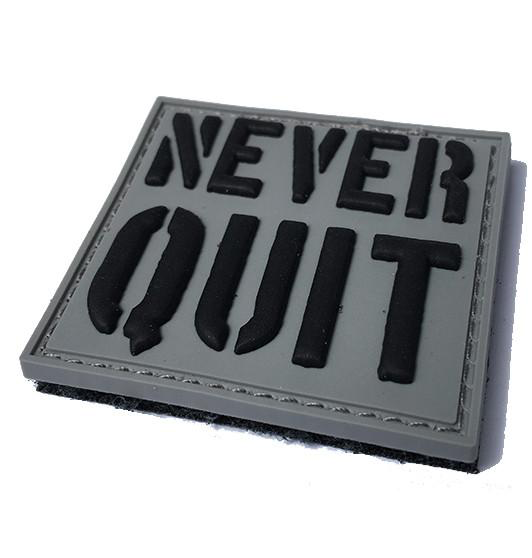 30 Sec Out Velcro Patch, Never Quit
