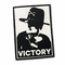 30 Sec Out Velcro Patch, Blackout Victory