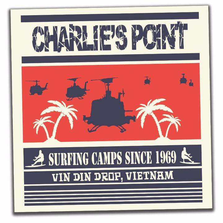 30 Sec Out Sticker,  Charlie's Point