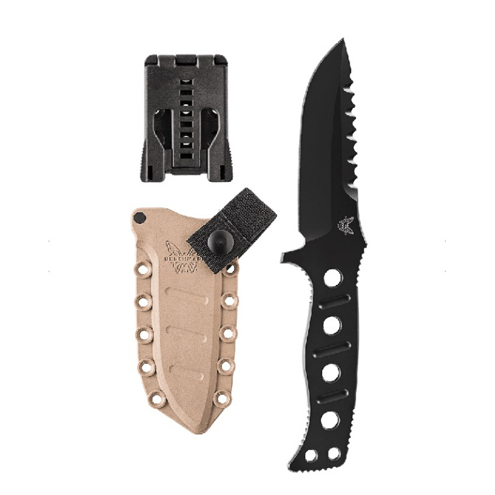 Benchmade Adamas, Fixed Blade, Black/Sand