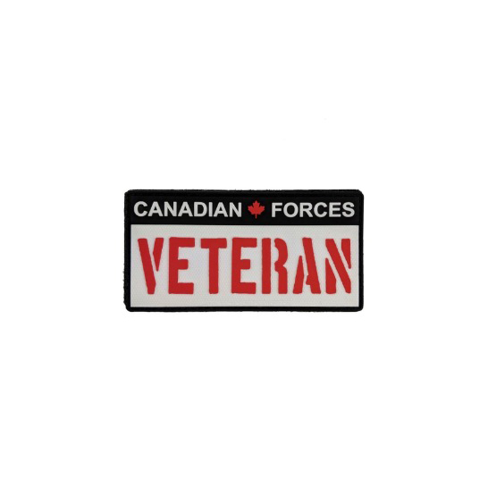 Candian Force Veteran - Red & White