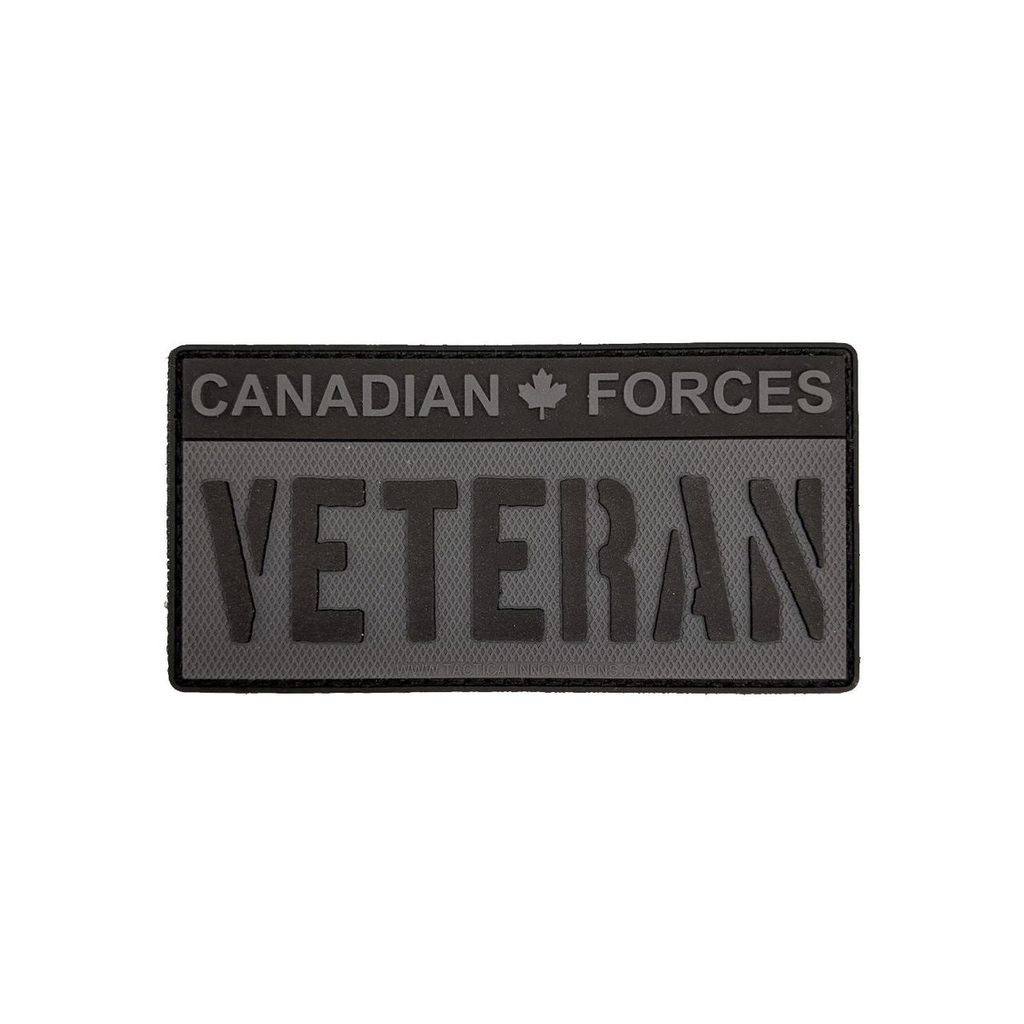 Candian Force Veteran - Black & Grey