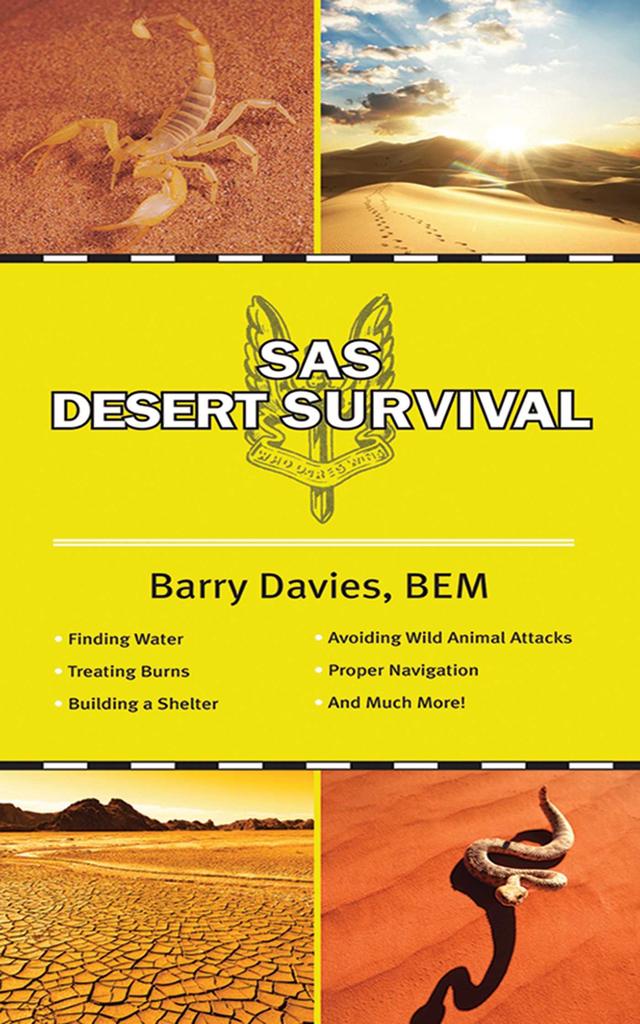 Simon & Schuster The SAS Guide to Desert Survival