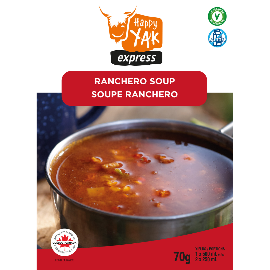 HAPPY YAK Ranchero Soup Vegan, Lactose Free