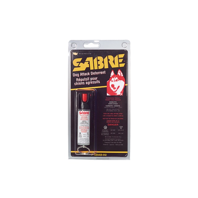 SABRE Keychain Dog Spray