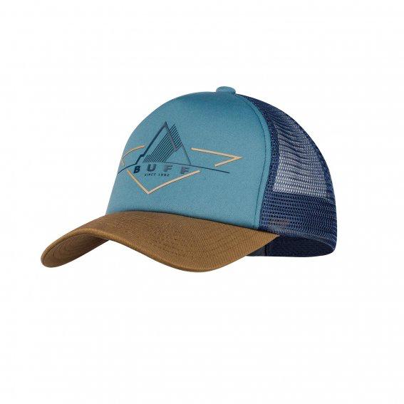 BUFF Trucker Cap, Bark Stone Blue
