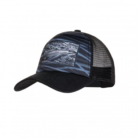BUFF Trucker Cap, Bark Stone Blue