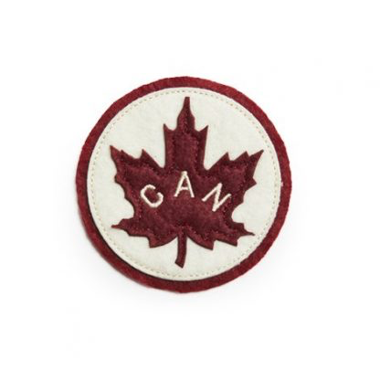 RED CANOE Canada Patch