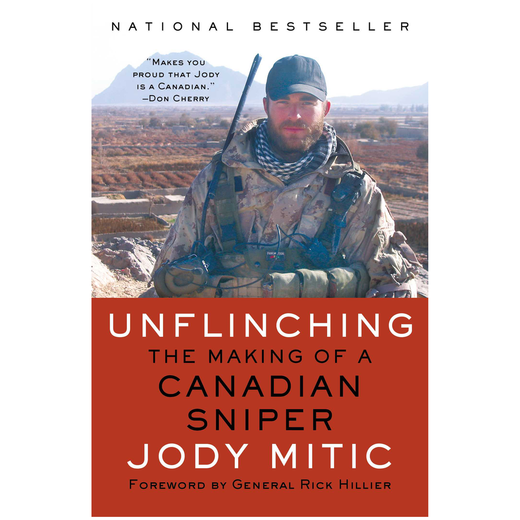 Simon & Schuster Unflinching, The Making of a Canadian Sniper