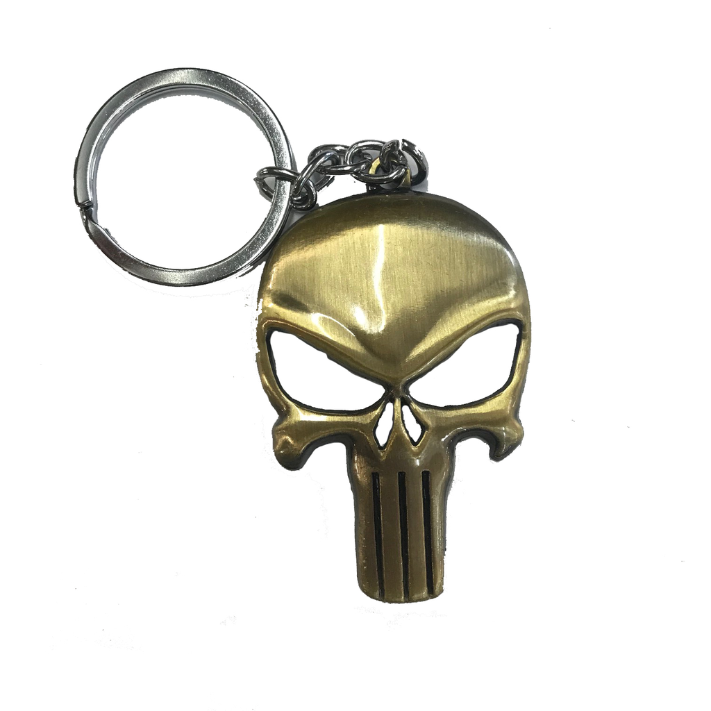 Proactive Distribution Punisher Skull Key Chain