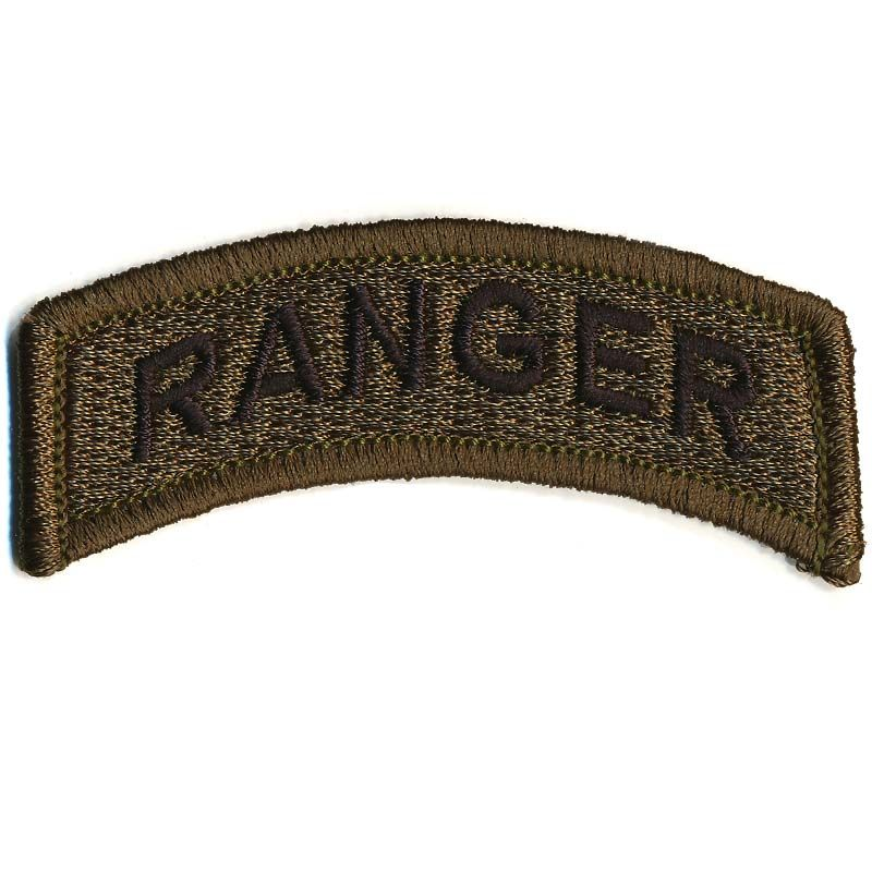 Patch, Ranger [Subdued Olive Tab]