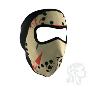 ZAN ZAN Headgear, Neoprene Full Mask, Jason Mask