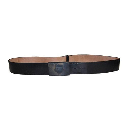 GENUINE SURPLUS Belt, Hungarian, Leather, 48mm,<br />Black, Genuine Isuue, New