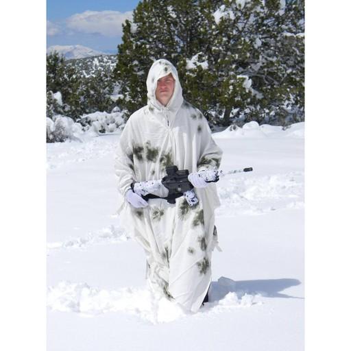 GENUINE SURPLUS Cape - German Issue - Schneetarn - Winter Snow Camouflage 83894d9421ae