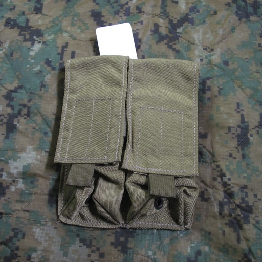 GENUINE SURPLUS Genuine US Issue, 2 Pocket Large Ammo Pouch, Coyote