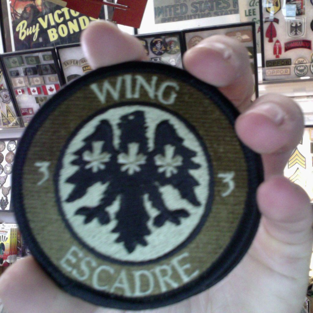 Patch - RCAF - Wing Escadre - 33