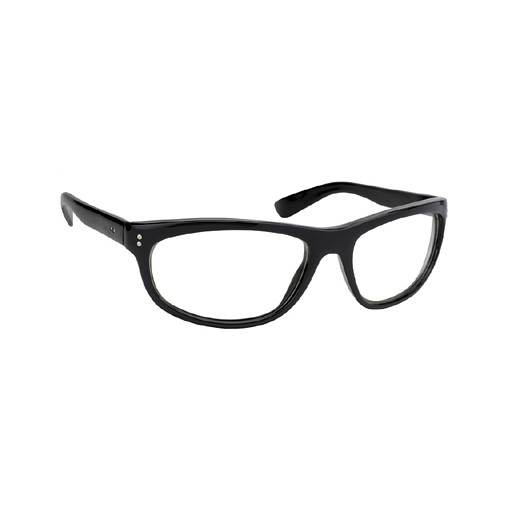 Pacific Coast, Dirty Harry Glasses, Clear Lens, Black