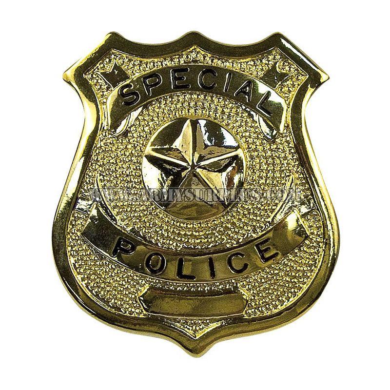 ROTHCO Rothco, Special Police Badge, Gold