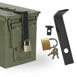 Mil-Spec Plus, 3-Piece Ammo Can Lock