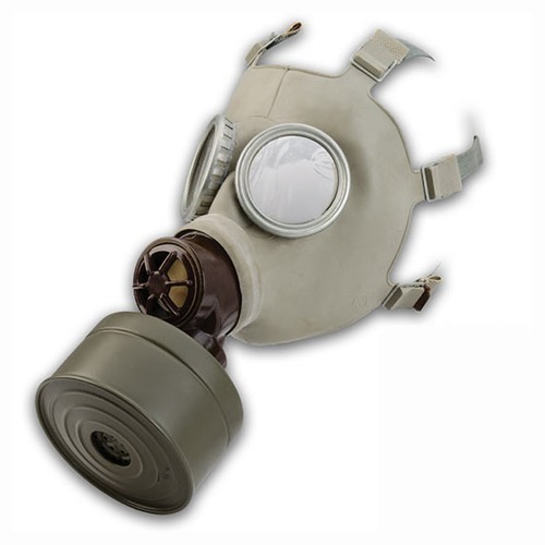 GENUINE SURPLUS Gas Mask, Czech CM3, Issue