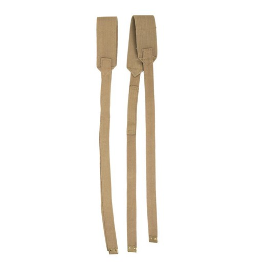 GENUINE SURPLUS British, M37, Field Suspenders Khaki