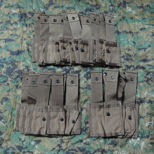 GENUINE SURPLUS Genuine Issue, US Army, Grenadier Multi Pocket Pouch Set, Coyote