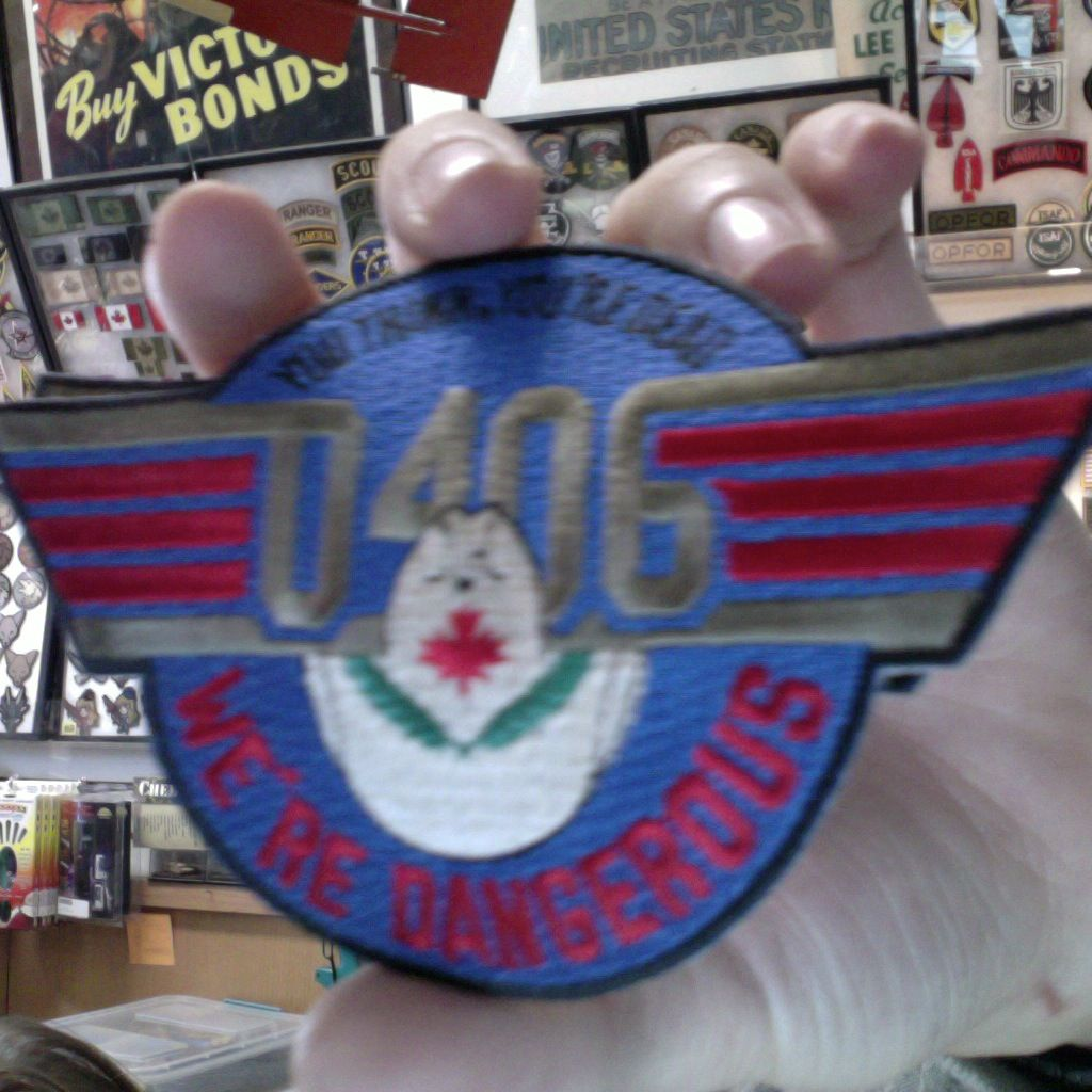 Patch - RCAF - 0406 - You Think You're Dead - We're Dangerous