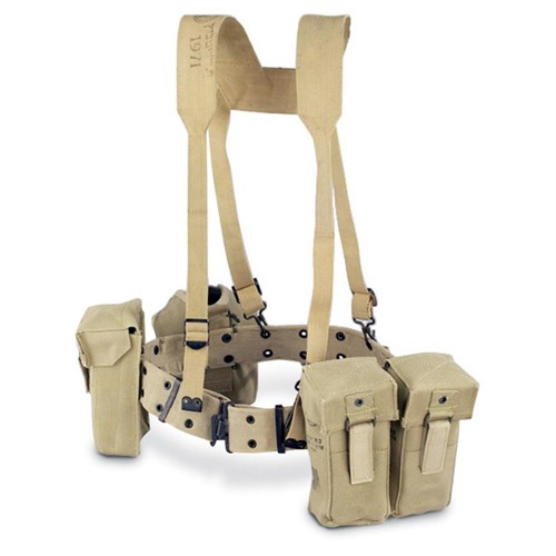 GENUINE SURPLUS Israeli, H-Type Harness, Khaki