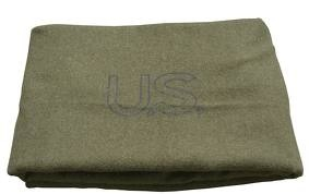 GENUINE SURPLUS Blanket, Wool, US Issue Olive