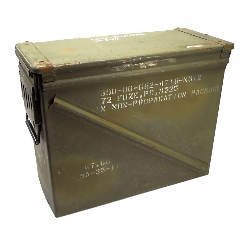 GENUINE SURPLUS Container, Ammo Box, 20mm [7.5''x17.5''x14'']