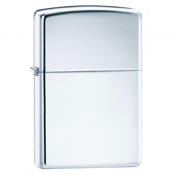ZIPPO Zippo, High Polish Chrome Lighter