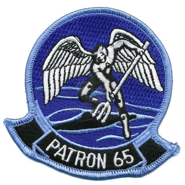 Patch, US Navy, Patrol Squadron 'PATRON' VP-65, ''Tridents''