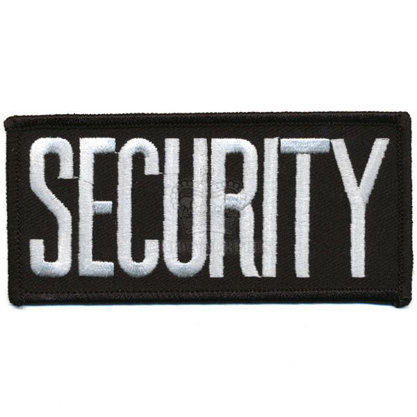 Patch, Security Tab, White