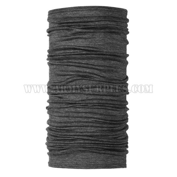 BUFF ightweight Merino Wool, Solid Grey