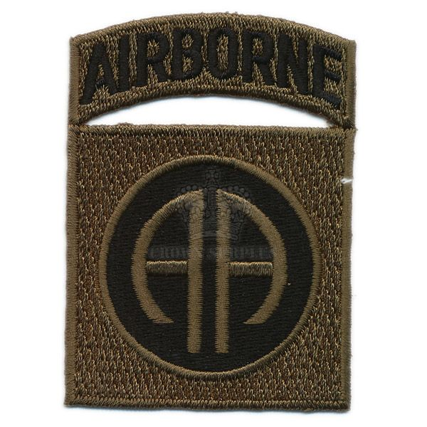 Patch, US 82nd Airborne Div. ''All-American'', Woodland